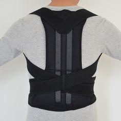 Adjustable Posture Back Support Corrector Belt Band straightener Band Brace Shoulder Braces & Supports for Sport Safety