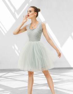Sukienka tiulowa w serduszka