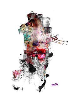 Yossi Orginal Kunst GesichtKalligraphie von yossikotlerart auf Etsy
