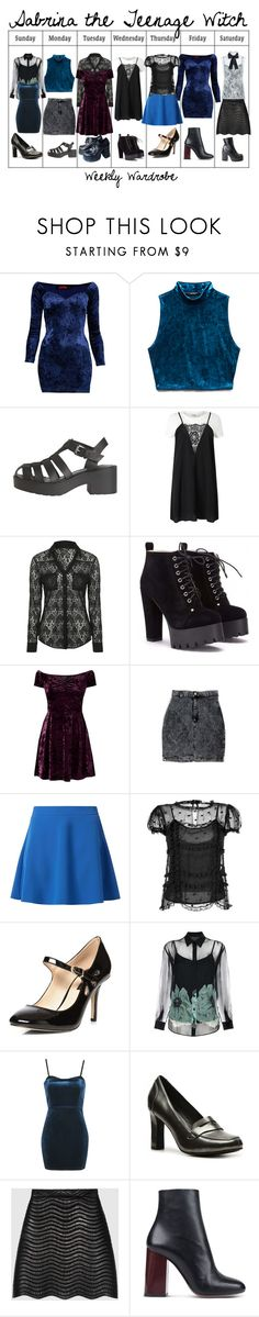 """""""Sabrina the Teenage Witch"""" by sparkle1277 ❤ liked on Polyvore featuring Motel, Forever 21, Windsor Smith, Miss Selfridge, Jane Norman, RED Valentino, Dorothy Perkins, Paul Smith, Topshop and Impo"""