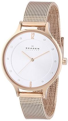 4b2606a6dcdc7 SKAGEN WATCH. Cute WatchesOr RoseRose GoldSkagen WatchesBraceletsGold Watch QuartzStainless SteelJewelry Watches
