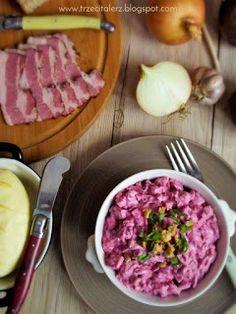 Magdalena – rosyjska sałatka z buraczkami i wędzonymi śliwkami Beef, Vegetables, Fit, Meat, Shape, Vegetable Recipes, Veggies, Steak