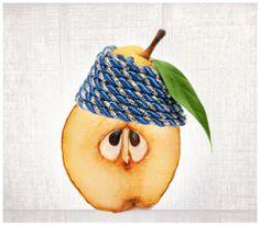 Food artwork. Fine art photography Still Life Pear by AylilAntoniu, $30.00