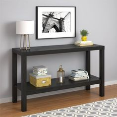 Free Shipping. Buy Mainstays Parsons Console Table, Multiple Colors Available at Walmart.com