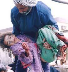 Resultado de imagen para guerra de irak niños