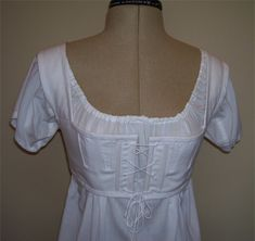 Short stays and chemise from Sense and Sensibility patterns <3  DONE; Nothing! Is better than Jane Austin: