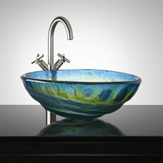20 beautiful glass vessel sinks