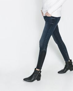 SKINNY FIT JEANS from Zara