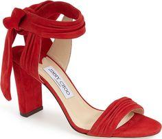 Jimmy Choo 'Kora' Ankle Strap Sandal #flatlay #flatlays #flatlayapp www.theflatlay.com