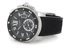 Calibre de Cartier Diver W7100056 watch - for sale - Govberg via Perpetuelle