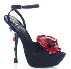 .YSL -not big on the flower but love the heel!