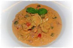 Kochen....meine Leidenschaft: Tortellini in Paprikarahm
