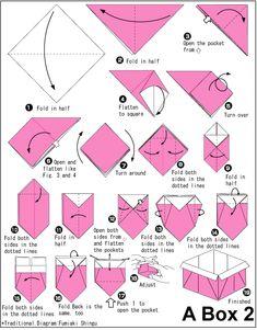 molde origami - Pesquisa Google