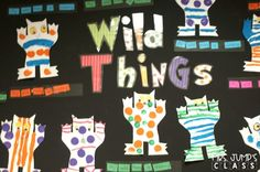 Wild Thing Book Activities! This unit is fantastic for Maurice Sendak's book Where the Wild Things Are. Writing worksheet and craft included. Perfect for kindergarten or first grade!