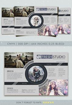 Fresh Studio Flyer Template PSD. Download here: http://graphicriver.net/item/fresh-studio-flyer-template/16191173?ref=ksioks
