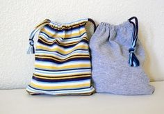 upcycled tshirt bags Tutorial by deborah