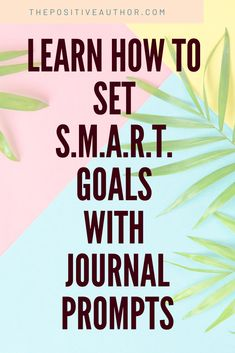 Have trouble reaching your goals? They're probably too vague. Learn how to set goals that are easier to achieve using journal prompts. Journal Writing Prompts, Book Writing Tips, Conversation Starters For Kids, Writing Therapy, Mental Health Journal, What To Write About, Invitation, Cognitive Behavioral Therapy, Setting Goals