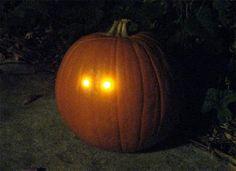 Very cool Jack-o-lantern idea!