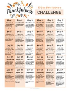 30 Thanksgiving Bible Verses + FREE Printable - Wildly Anchored // Faith, Family, Homeschool