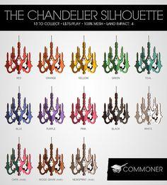 [Commoner] The Chandelier Silhouette (Gacha Key)