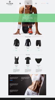 Flexer by Wladimir Ilyanoi, via Behance