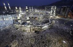 Muslim pilgrims circle the Kaaba and pray at the Grand mosque during the annual haj pilgrimage in the holy city of Mecca, October 22, 2012, ahead of Eid al-Adha which marks the end of haj. (Reuters)