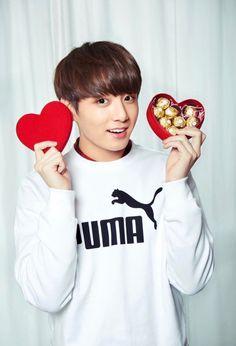 Valentine's Day|| JUST BTS JUNGKOOK