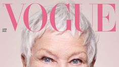 """""""I can't tell you how pleased I am to see Judi Dench, the unassailable queen of stage and screen, starring on her first ever Vogue cover at the age of says Edward Enninful in his editor's letter Vogue Spain, Vogue Korea, High Fashion Photography, Editorial Photography, Lifestyle Photography, Edward Enninful, Judi Dench, Best B, Beauty Women"""