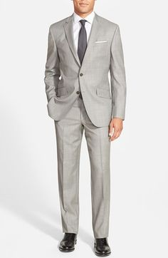 Ted Baker London 'Jones' Trim Fit Wool Suit available at #Nordstrom