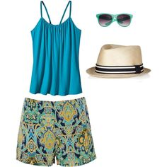 NOLA Jazz Fest Outfit, created by patty-mcintosh-katz on Polyvore