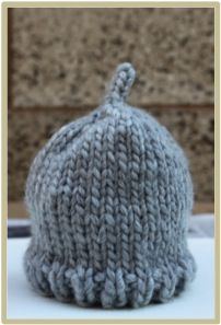 I love the movie 'Little Rascals' and I think Alfalfa's character with the hair sticking up is just too adorable. My new pattern is inspired by Alfalfa. I am quite a slow knitter but I finished this...