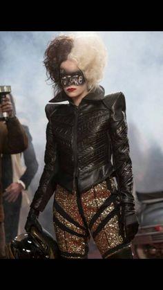 Emma Stone, Anti Fashion, Fashion Line, Live Action, Moda Aesthetic, Cruella Costume, Punk Princess, Special Occasion Outfits, Maquillage Halloween