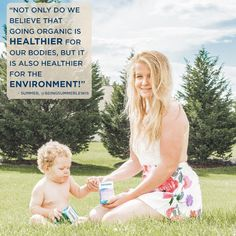 Summer Lewis, the mom and entrepreneur behind the blog Being Summer Lewis tells us why she chooses to go organic on our blog! #quote #inspiration #mom #lifestyle #healthy