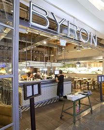 Byron Burger London - the best and closest to a taste of home.