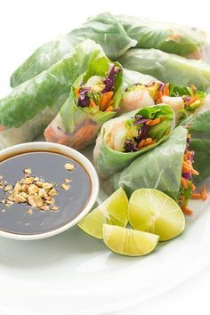 How to Make Vietnamese Spring Rolls - an easy recipe tutorial