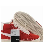 buy online 13216 816c5 Nike Blazer Vintage Haute Varsity Rouge Blanc Nike Blazer Low Vintage Homme  Footlocker, Shoes Uk