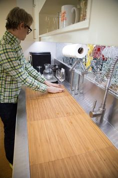 This Ingenious Sink Was Inspired By Restaurant Kitchens. Restaurant  KitchenRestaurant IdeasKitchen CountersKitchen ...