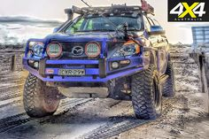 mazda off road * mazda off road Jeep 4x4, Lifted Trucks, Pickup Trucks, Ute Canopy, 4x4 Off Road, Camper Trailers, Campers, Toys For Boys, Land Cruiser