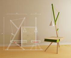 RE:LIGHT by Presek Design Studio, via Behance