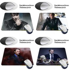 gorgeous Dr. Hannibal Lecter - Hannibal Anti-Slip Laptop PC Me Pad Mat for Optal Laser Mouse Drop Shipping