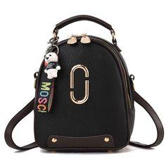Cute PU Leather Small Shoulder Bag Handbag Backpack – Fowish.com  backpack   Bag b7cc1342ca350