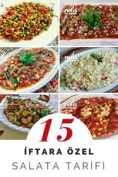 Ramazan ayına özel salata tarifleri en beğenilen değişik seçenekleriyle bu… – Salata meze kanepe tarifleri – Las recetas más prácticas y fáciles Salad Menu, Salad Dishes, Iftar, Crab Stuffed Avocado, Cottage Cheese Salad, Dinner Salads, Easy Salads, Roasted Vegetables, Turkish Recipes