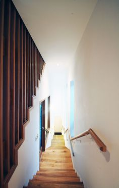 passive house apartment building in Clonmel, Co TIpperary. Entry Stairs, Passive House, Residential Architecture, Building, Home Decor, Decoration Home, Room Decor, Buildings, Home Interior Design