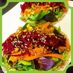 Sprouted Whole Grain Tortillas topped with @plantbasedyummies 2-Bean Spinach Hummus Mixed Greens Oil-Free Tofu Scramble Carrot Ribbons Shredded Beets Toasted Hemp Seeds and a Drizzle of Thai Peanut Sauce - #vegan #veganfood #veganfoodshare #veganfoodlovers #veganfoodporn #vegancommunity #veganforlife #hempseeds