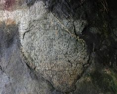 writing on stone (17th Century Postal System Carved in Stone : Discovery News)