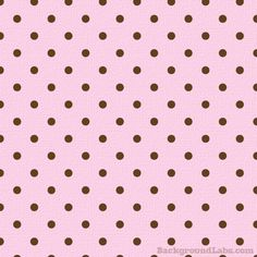 Chocolate & Pink Polka Dot - Background Labs