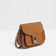 Image 3 of CROSS-BODY BAG WITH FASTENING DETAIL from Zara