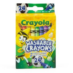24ct Crayola Washable Crayons – Keeps Things Neat! Art Craft Store, Craft Stores, Rustic Placemats, Thanksgiving Placemats, Crayola, Arts And Crafts Furniture, Pattern Drawing, Craft Activities For Kids, Crayons
