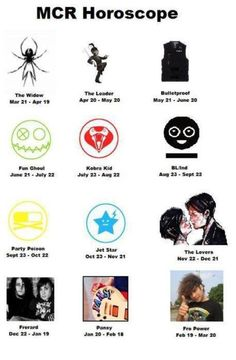 I got frerard that's it i can rest in peace