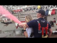 Baby Gender Reveal for Firefighter Tubbs and Family! Maternity Pictures, Pregnancy Photos, Baby Pictures, Firefighter Pregnancy Announcement, Pregnant Announcements, Firefighter Baby Showers, Fireman Wedding, Baby Announcement Pictures, Baby Gender Reveal Party